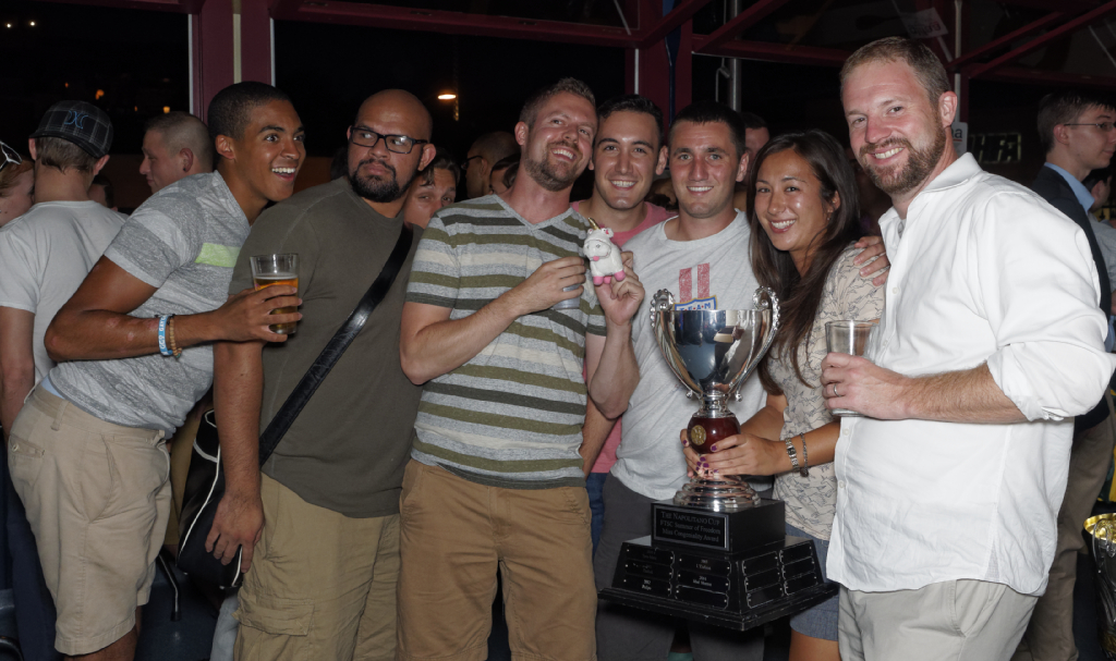 Napolitano Cup winners - Mad Momos